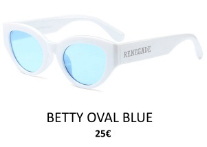 GAFAS DE SOL RENEGADE BETTY OVAL BLUE