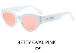 GAFAS DE SOL RENEGADE BETTY OVAL PINK