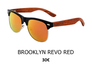 GAFAS DE SOL BROOKLYN REVO RED