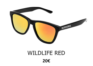 GAFAS DE SOL RENEGADE WILDLIFE RED