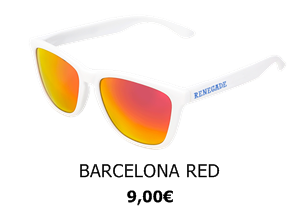 GAFAS DE SOL RENEGADE BARCELONA RED