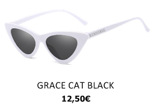 GAFAS DE SOL GRACE CAT BLACK