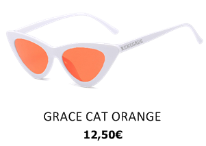 GAFAS DE SOL GRACE CAT ORANGE