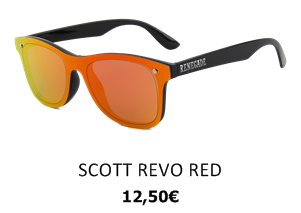 GAFAS DE SOL RENEGADE SCOTT REVO RED