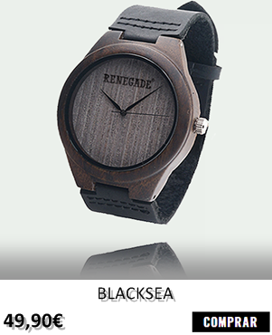 RELOJ DE MADERA RENEGADE BLACKSEA