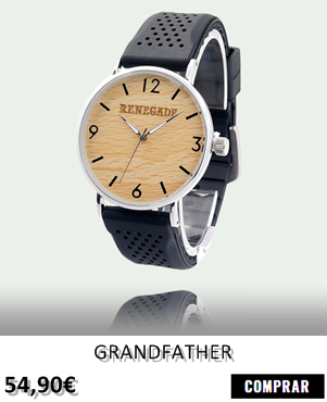 RELOJ DE MADERA RENEGADE GRANDFATHER