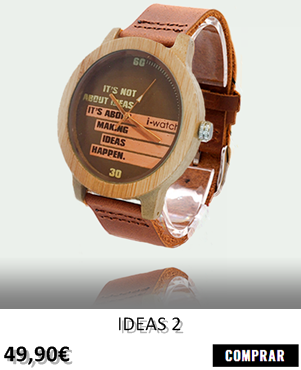 RELOJ DE MADERA RENEGADE IDEAS 2