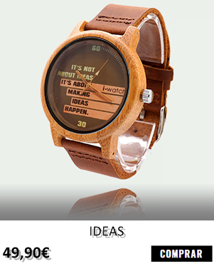 RELOJ DE MADERA RENEGADE IDEAS
