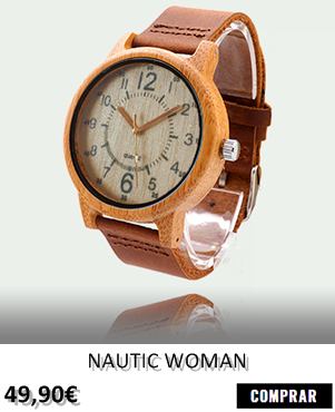 RELOJ DE MADERA RENEGADE NAUTIC WOMAN